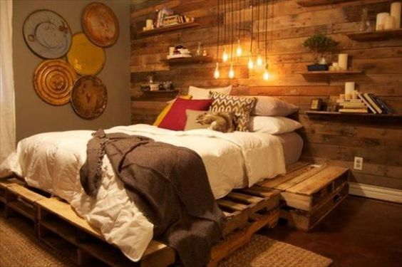 Diy Pallet Bed 36 - Amazing DIY Pallet Bed Ideas