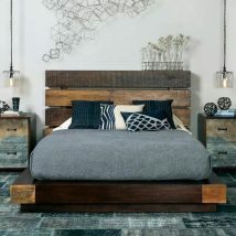 Diy Pallet Bed 38 214x214 - Amazing DIY Pallet Bed Ideas