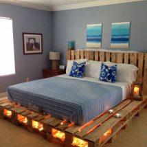 Diy Pallet Bed 4 214x214 - Amazing DIY Pallet Bed Ideas