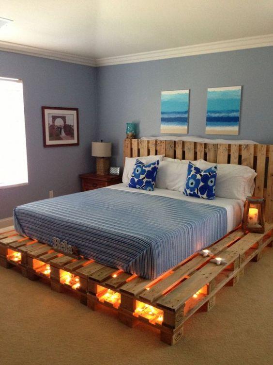 Diy Pallet Bed 4 - Amazing DIY Pallet Bed Ideas
