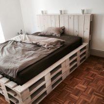 Diy Pallet Bed 45 214x214 - Amazing DIY Pallet Bed Ideas