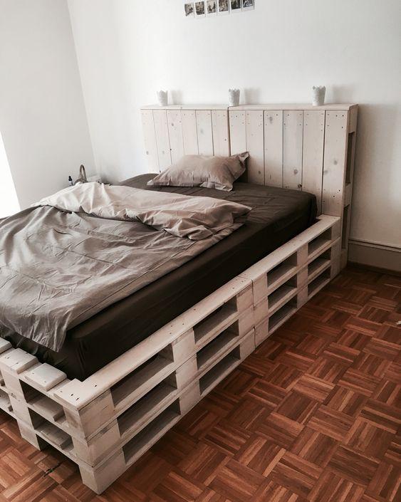 Diy Pallet Bed 45 - Amazing DIY Pallet Bed Ideas