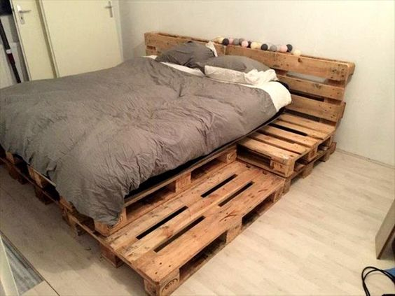 Diy Pallet Bed 47 - Amazing DIY Pallet Bed Ideas
