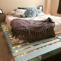 Diy Pallet Bed 5 214x214 - Amazing DIY Pallet Bed Ideas