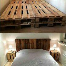 Diy Pallet Bed 52 214x214 - Amazing DIY Pallet Bed Ideas