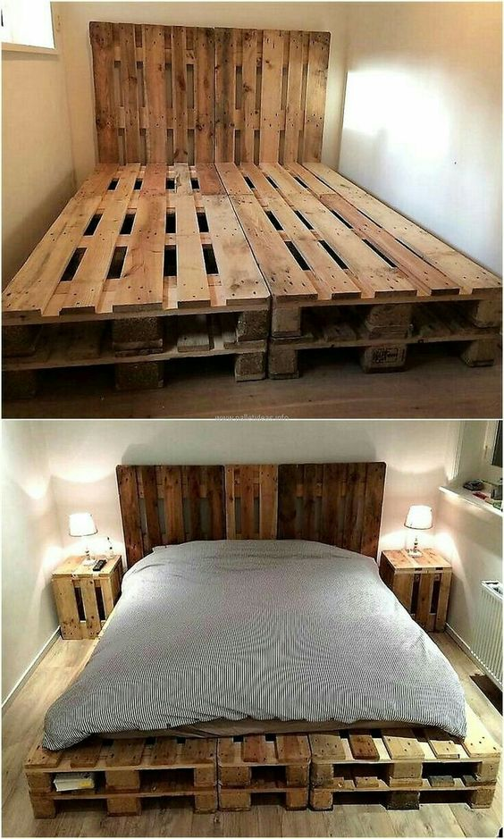 Diy Pallet Bed 52 - Amazing DIY Pallet Bed Ideas