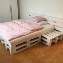 Diy Pallet Bed 53 214x214 - Amazing DIY Pallet Bed Ideas