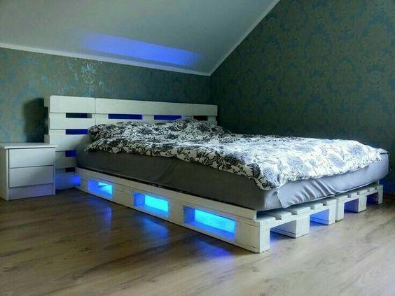 Diy Pallet Bed 58 - Amazing DIY Pallet Bed Ideas