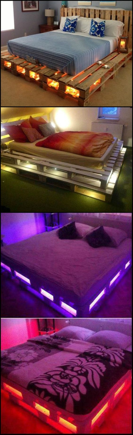Diy Pallet Bed 7 - Amazing DIY Pallet Bed Ideas
