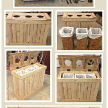 Diy Pallet Organizer 10 214x214 - 45+ DIY Project Garage Storage and Organization Use a Pallet