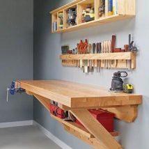 Diy Pallet Organizer 13 214x214 - 45+ DIY Project Garage Storage and Organization Use a Pallet
