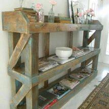Diy Pallet Organizer 19 214x214 - 45+ DIY Project Garage Storage and Organization Use a Pallet