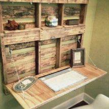 Diy Pallet Organizer 22 214x214 - 45+ DIY Project Garage Storage and Organization Use a Pallet