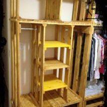 Diy Pallet Organizer 25 214x214 - 45+ DIY Project Garage Storage and Organization Use a Pallet