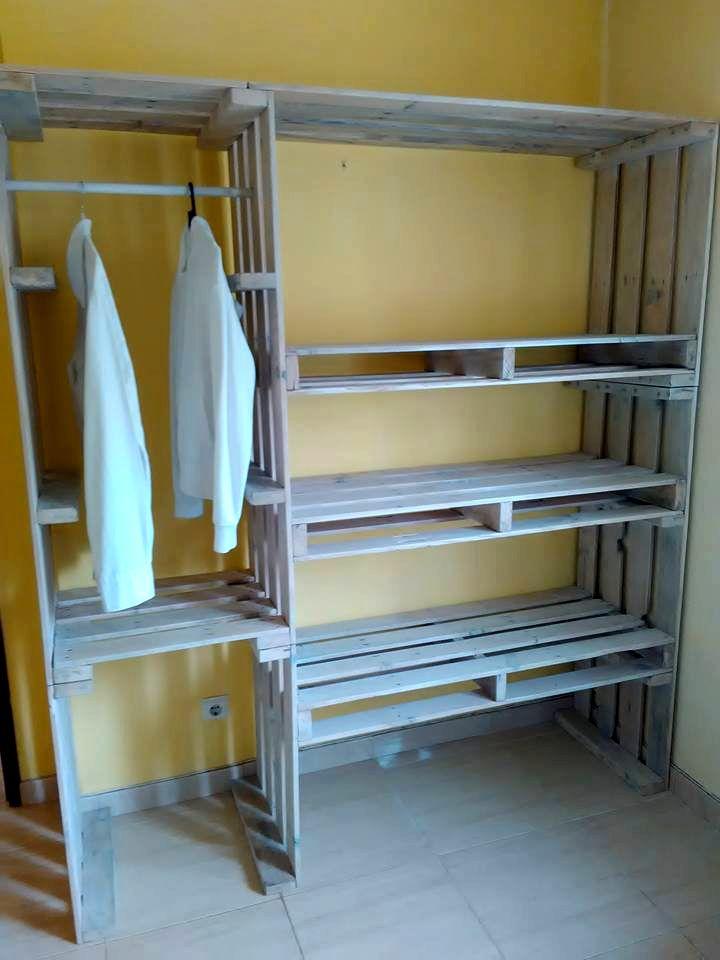 Diy Pallet Organizer 26 - 45+ DIY Project Garage Storage And Organization Use A Pallet