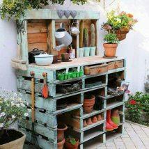 Diy Pallet Organizer 31 214x214 - 45+ DIY Project Garage Storage and Organization Use a Pallet