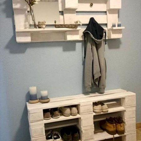 Diy Pallet Organizer 32 - 45+ DIY Project Garage Storage And Organization Use A Pallet