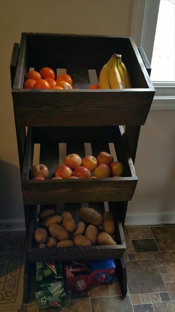 Diy Pallet Organizer 4 - 45+ DIY Project Garage Storage And Organization Use A Pallet