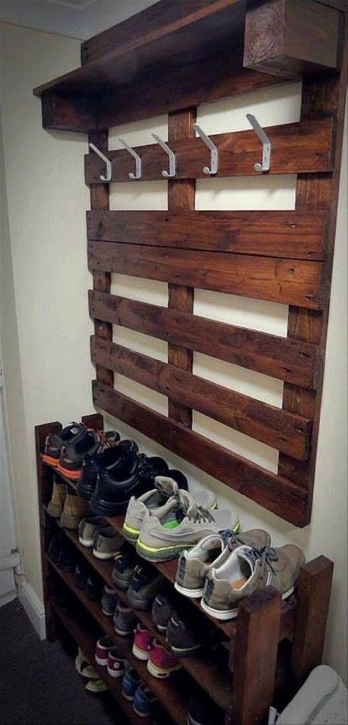 Diy Pallet Organizer 5 - 45+ DIY Project Garage Storage And Organization Use A Pallet