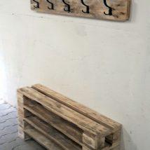 Diy Pallet Organizer 6 214x214 - 45+ DIY Project Garage Storage and Organization Use a Pallet