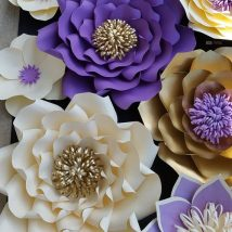 Diy Paper Flowers 1 214x214 - Coolest DIY Paper Flowers for Anyone