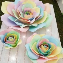Diy Paper Flowers 10 214x214 - Coolest DIY Paper Flowers for Anyone