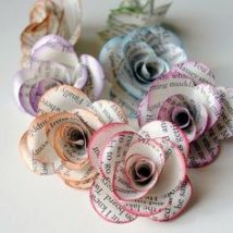 Diy Paper Flowers 11 214x214 - Coolest DIY Paper Flowers for Anyone