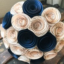 Diy Paper Flowers 13 214x214 - Coolest DIY Paper Flowers for Anyone