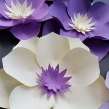 Diy Paper Flowers 14 214x214 - Coolest DIY Paper Flowers for Anyone