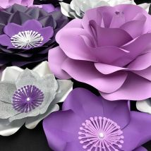 Diy Paper Flowers 15 214x214 - Coolest DIY Paper Flowers for Anyone