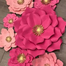 Diy Paper Flowers 18 214x214 - Coolest DIY Paper Flowers for Anyone