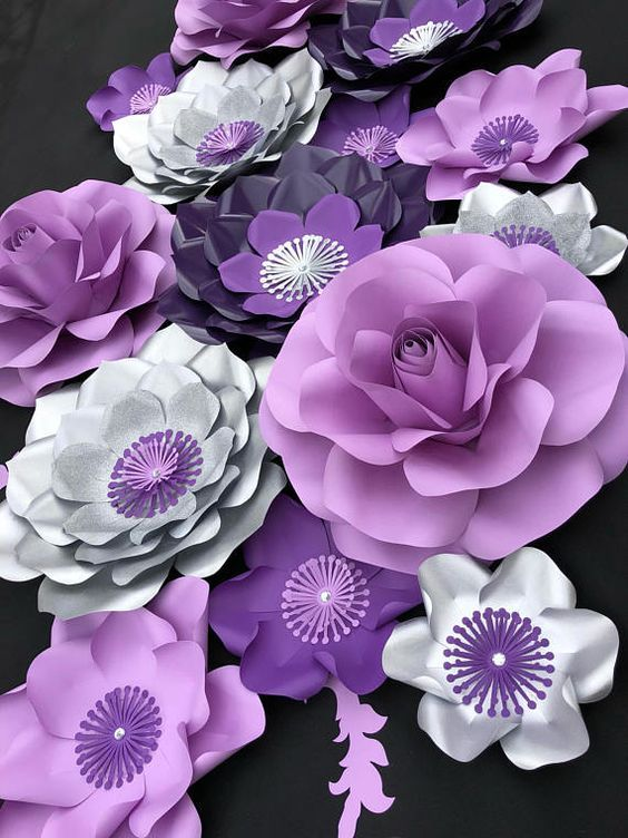 Diy Paper Flowers 2 - Coolest DIY Paper Flowers For Anyone
