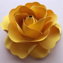 Diy Paper Flowers 20 214x214 - Coolest DIY Paper Flowers for Anyone