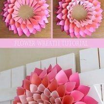Diy Paper Flowers 24 214x214 - Coolest DIY Paper Flowers for Anyone