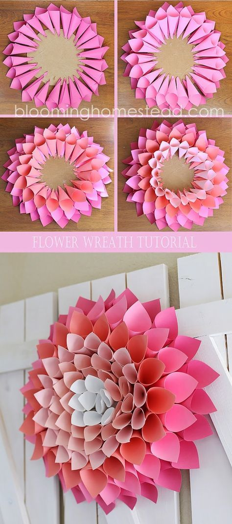 Diy Paper Flowers 24 - Coolest DIY Paper Flowers For Anyone