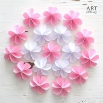Diy Paper Flowers 26 214x214 - Coolest DIY Paper Flowers for Anyone