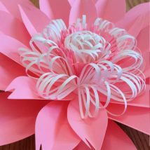 Diy Paper Flowers 31 214x214 - Coolest DIY Paper Flowers for Anyone