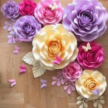 Diy Paper Flowers 34 214x214 - Coolest DIY Paper Flowers for Anyone