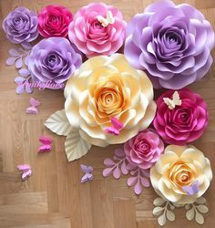 Diy Paper Flowers 34 - Coolest DIY Paper Flowers For Anyone