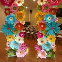 Diy Paper Flowers 35 214x214 - Coolest DIY Paper Flowers for Anyone