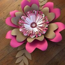 Diy Paper Flowers 37 214x214 - Coolest DIY Paper Flowers for Anyone