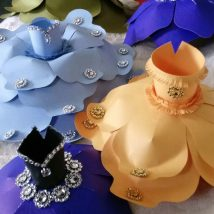 Diy Paper Flowers 39 214x214 - Coolest DIY Paper Flowers for Anyone