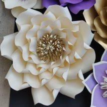 Diy Paper Flowers 42 214x214 - Coolest DIY Paper Flowers for Anyone