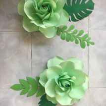 Diy Paper Flowers 43 214x214 - Coolest DIY Paper Flowers for Anyone