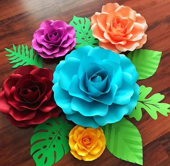 Diy Paper Flowers 44 - Coolest DIY Paper Flowers For Anyone