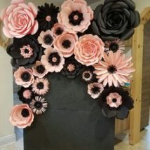 Diy Paper Flowers 5 214x214 - Coolest DIY Paper Flowers for Anyone