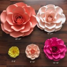 Diy Paper Flowers 6 214x214 - Coolest DIY Paper Flowers for Anyone