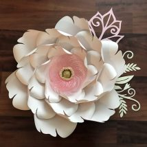 Diy Paper Flowers 9 214x214 - Coolest DIY Paper Flowers for Anyone