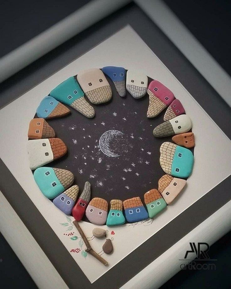 Diy Pebble Art 1 - 55+ Of The Best Creative DIY Ideas For Pebble Art Crafts