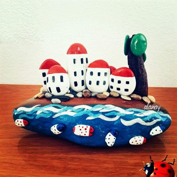 Diy Pebble Art 14 - 55+ Of The Best Creative DIY Ideas For Pebble Art Crafts